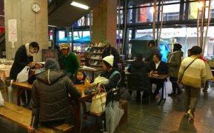 2月10日(土)新開地土曜マルシェ、雨の中のご来場ありがとうございました!!!