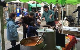 滋味たっぷりの冬野菜、無添加ひもの、カニ汁、鱧天、本格インドカレーも!!!