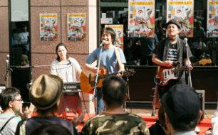 【7/14土曜マルシェ】空の下の演奏会には新開地音楽祭常連のミュージシャン2組が登場!