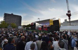 【第18回神戸新開地音楽祭】雨天決行。2日目も定刻通り11:30より開幕します!!!