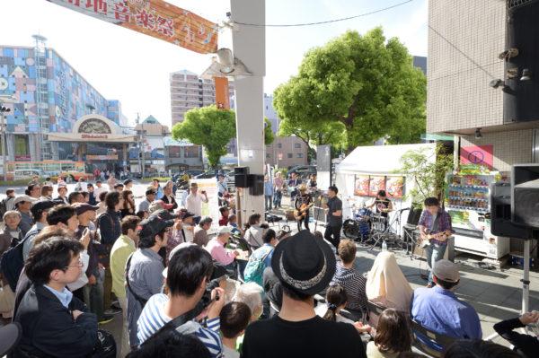 湊川~ミナエン~メトロ~新開地商店街に設置される14箇所のステージ巡るのも楽しい!