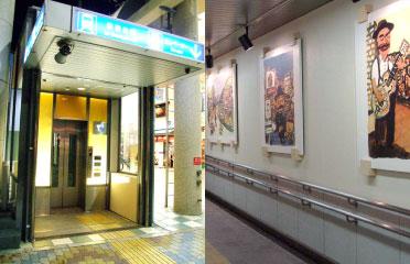 6 新開地駅エレベーター(昇降機+地下通路)