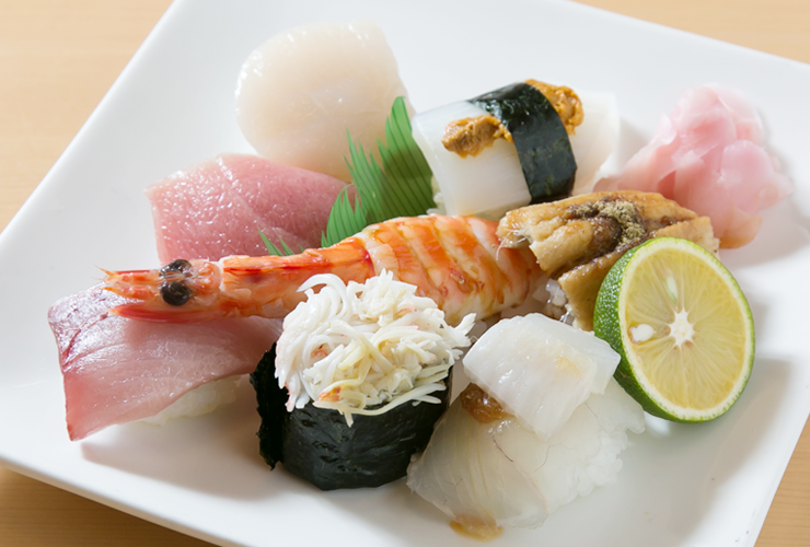 名店紹介 寿司一心