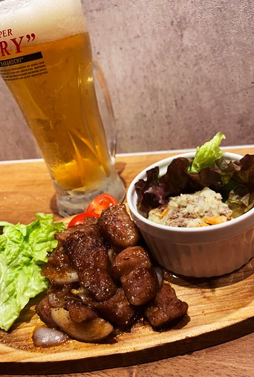 厳選和牛を使った肉料理が自慢のニューフェイス「肉バル SOW」