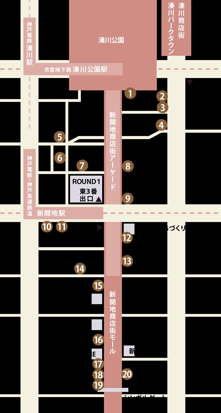 店舗一覧マップ