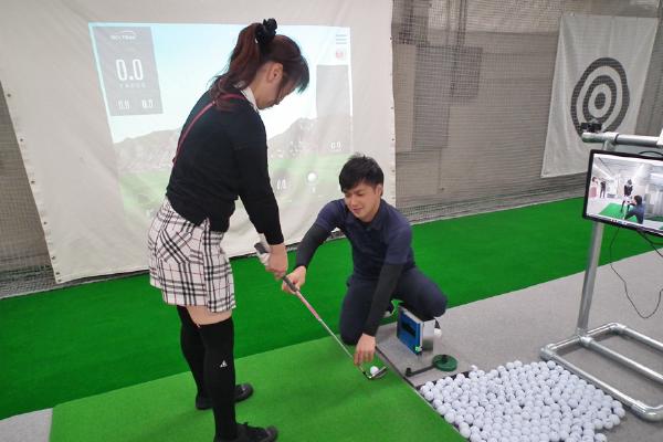 初めてのゴルフ体験