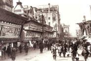 大正から昭和初期、全盛期を迎えた新開地本通りの様子。「劇場24館、商店202軒」を擁したとされる