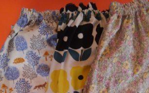 【10月9日】時間をかけて選んだ生地でつくるcicobirdさんのスカートや布雑貨。今月は優しい柄も元気な柄も!