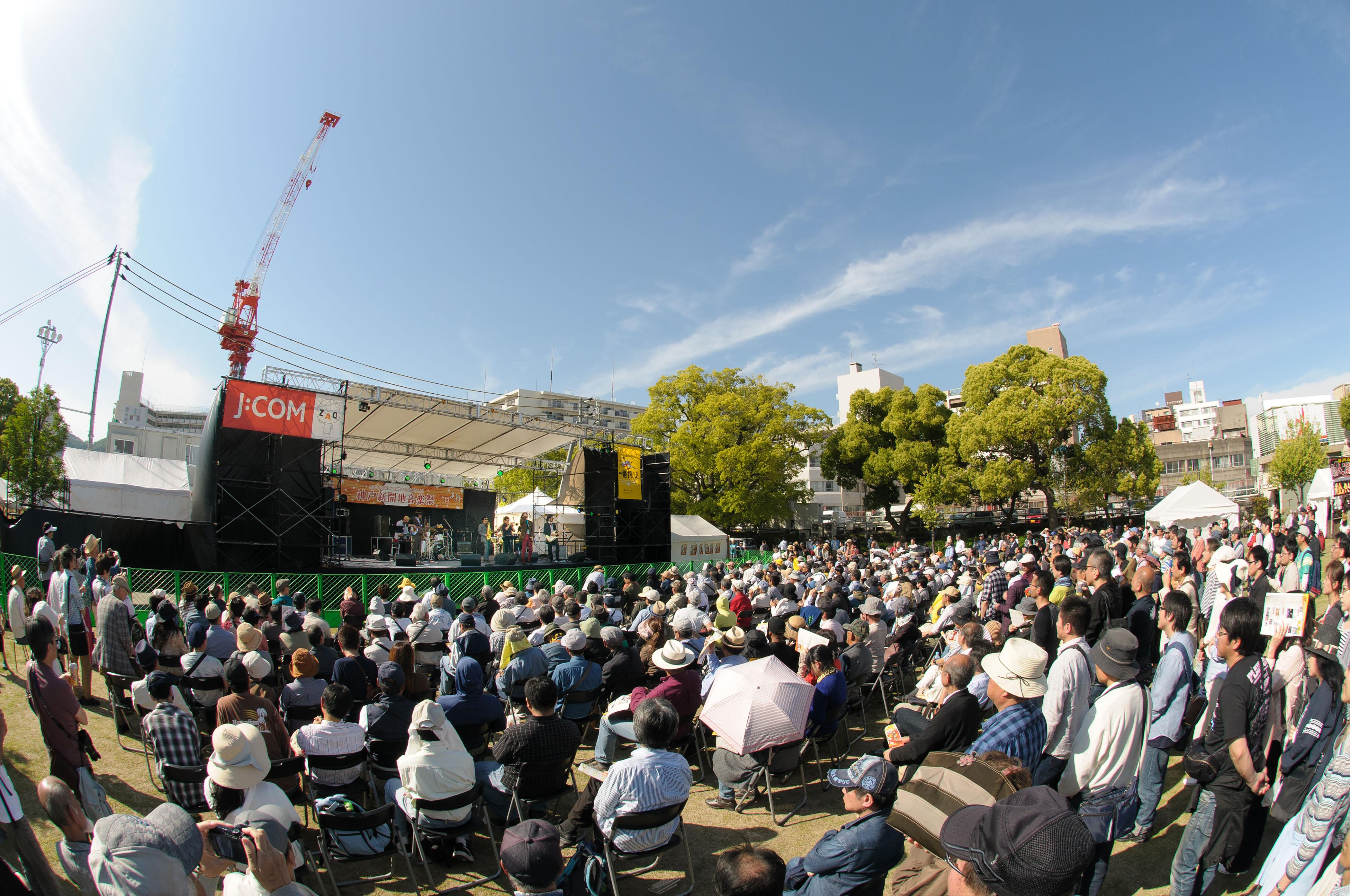 【第20回神戸新開地音楽祭】ステージに続き、各企画の募集も始まりましたーーーーー!